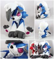 Shiny Midnight Lycanroc (pre-orders open!) by MagnaStorm