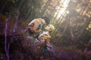 Erwin and Levi by hannord