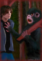 Luke and Primate Kin by mk-kayem