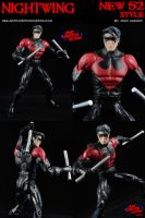 Custom Nightwing (New 52) DCUC Action Figure by MintConditionStudios