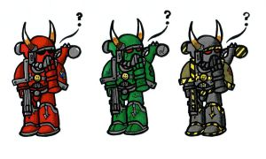 Marines of teh Chaos by Clayman8