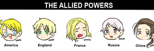 The Allied Powers by Muisha