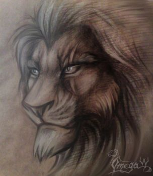Scar realistic by OmegaLioness