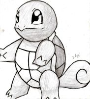 Squirtle by dmiguez