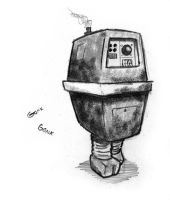 Gonk Droid by Captain-Galant