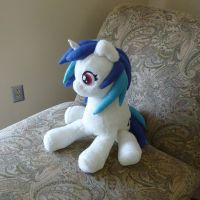 Vinyl Scratch Plush Redux by Lumae-el