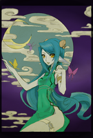 Moon Nymph by Kitty-goes-rawr