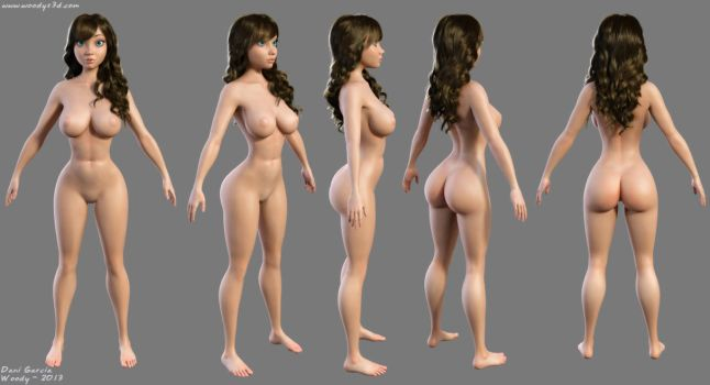 Samantha v3 by Woodys3d