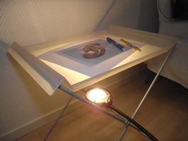 My Own Damn Light Table by BAproductions