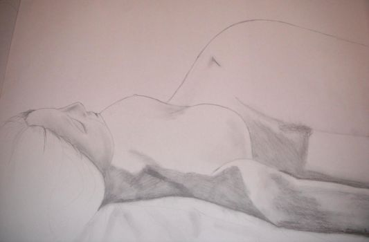 Art class favorites: Nude Model, last day by Jssra