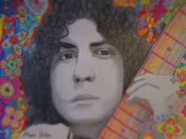 Marc Bolan by Squarefrog