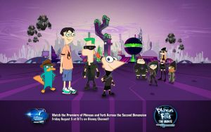 Me in PnF 2nd Dimension by DisneyDude-94