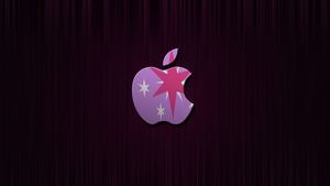 Twilight Apple Wallpaper by Warmo161