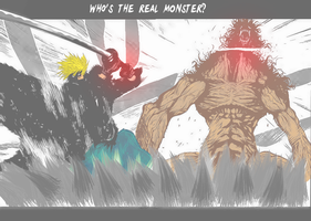 Who's the real monster? by X-Shiroh