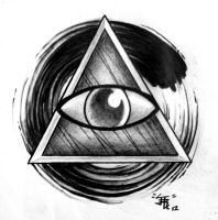 All Seeing Eye by Sirius-Tattoo