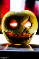 Scary Apple by 0MrLonely0