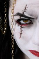 GoW: The Goddess of War Ascension Make-up by Lally-Hime