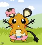 Deena The Dedenne by deadf1
