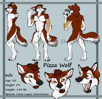 PizzaWolf Reference by Sharpe19