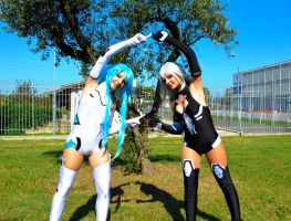 Black Heart and White Heart by KillerGio
