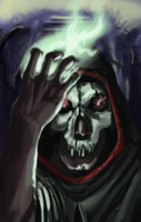 Sel The Necromancer by SnoopyMD