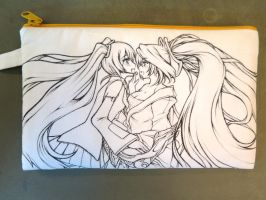 Miku and Sona on Cotton Bag by Yuriwhale