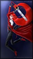 Chainsaw Swinging Grell - Ask Reply 31 by fallnangeltears
