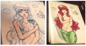 Ariel + by cus-tard