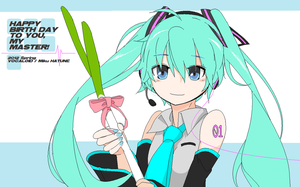 MS Paint miku by jeren07