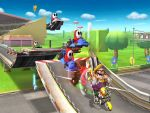 Wario is winning the race by GoodWoWPlayer
