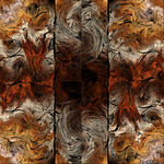 Abstract triptych 1 by IDeviant
