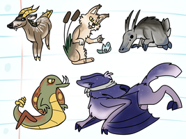 Doodle Adopts and Original Species [closed] by Chocodopts