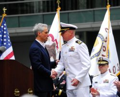 Rahm and The Navy Representative by Manbehindthelens