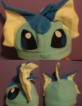 Vaporeon Hat by Idle-Tsundere