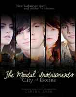TMI: City of Bones poster 2 by AliceCullen88
