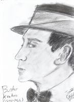 Buster Keaton by vaudeville-comedy
