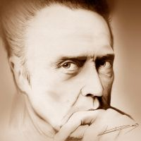 Christopher Walken by ROSSJCBR