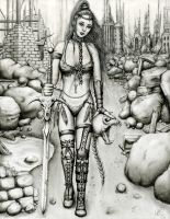 Queen of the Wastelands by Dracoart