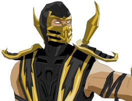Mortal Kombat 9 Scorpion by tfelita