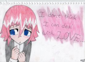 I can't deal with love... by KAC-N