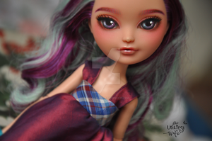 Ever After High Madeline Hatter repaint by theugliestwife