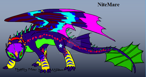 Sam's Dragon: NiteMare by perry321