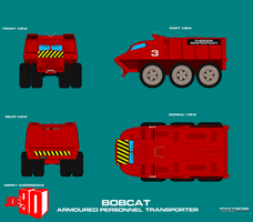 Gerry Andersons Joe 90 Bobcat Armoured Personnel T by ArthurTwosheds