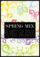 Spring Mix Brushes by missfairytaled