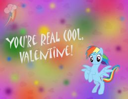 MLP Valentine Rainbow Dash by JiMMY--CHaN