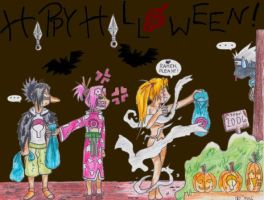 Naruto Halloween 2006 by Spaniel122