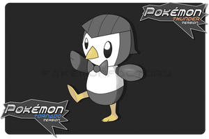 Proper Penguin Pokemon by harikenn