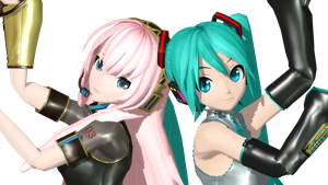 MMD DT Twinkle x Twinkle by willianbrasil