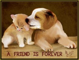 A FRIEND IS FOREVER by preethi9691