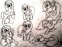 OC pony sketch dump by StardogChampion94